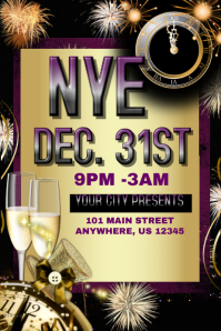NYE Party Event Template