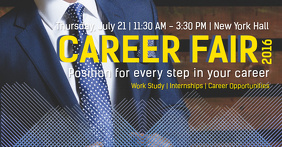 Career Fair Facebook Shared Image Template