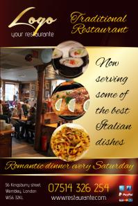 Restaurante flyer