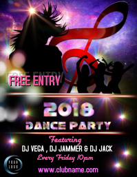 Dace party template 2018