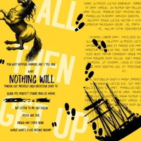 Dadaist Motivational Quote Poster