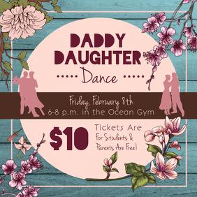 Daddy Daughter Dance Instagram Post