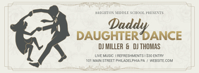 Daddy Daughter Dance Rustic Banner