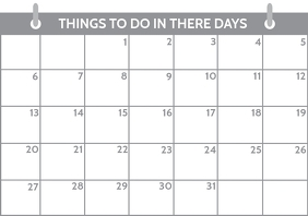 Daily Planning Schedule Template A4