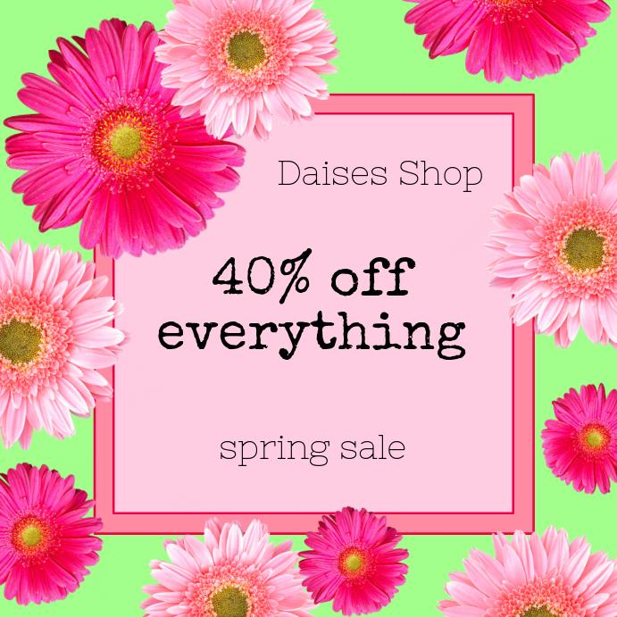 Daisy Spring Sale