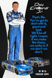 Dale Earnhardt Jr Poster