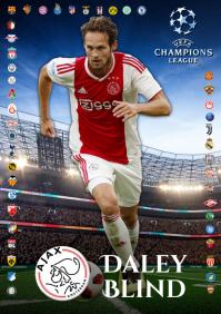 Daley Blind Ajax Poster