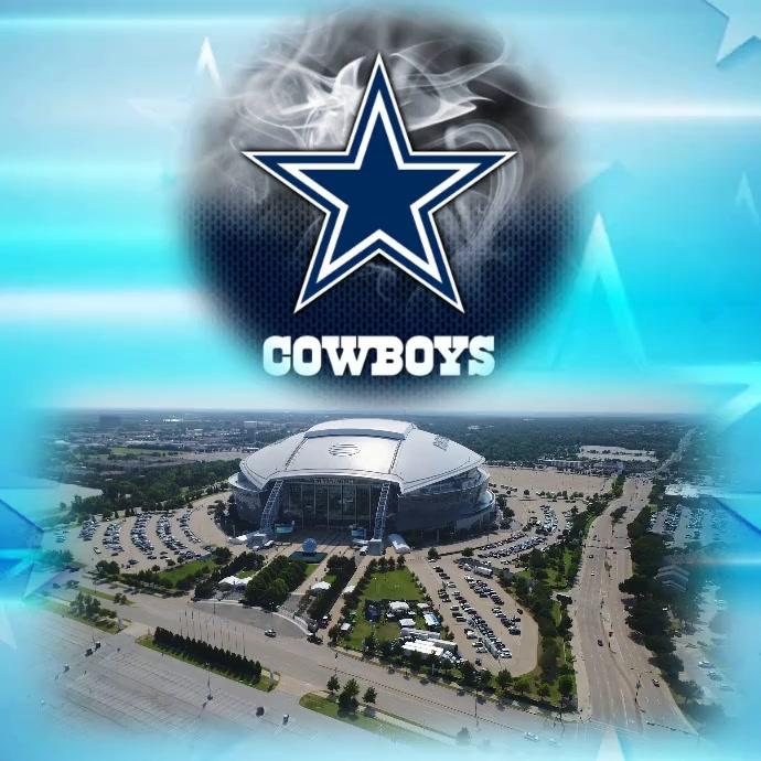 Dallas Cowboys Instagram Plasing template