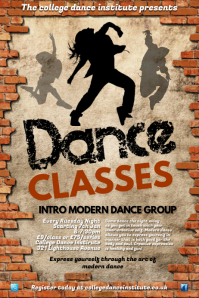 Dance Academy Flyer
