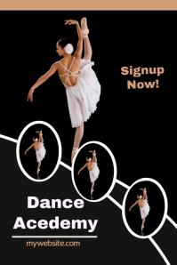 Dance Acedemy flyer