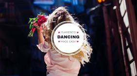 Dance Channel Youtube Channel Art Template