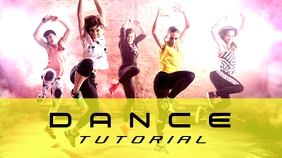 Dance Channel youtube YouTube-miniature template