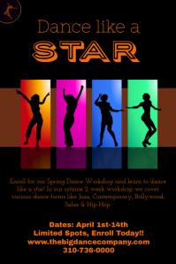 Dance Class/ Workshop Poster Template