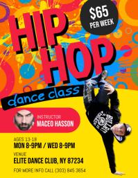 Dance Class Flyer