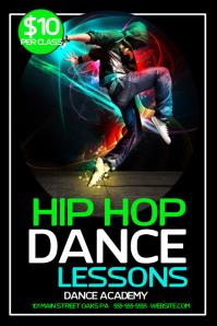 Hip Hop Party Poster. Similar Design Templates