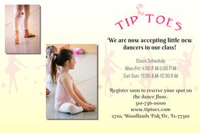 Dance Class Poster/Flyer