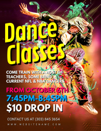 Dance Classes Flyer
