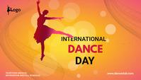 dance day blog header social post template