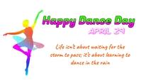 Dance Day Tanda template