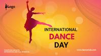 dance day social media post Publicação do Twitter template