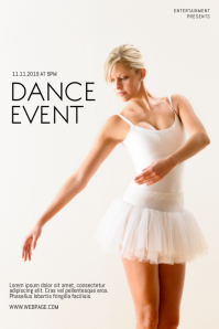 Dance Event Flyer Template