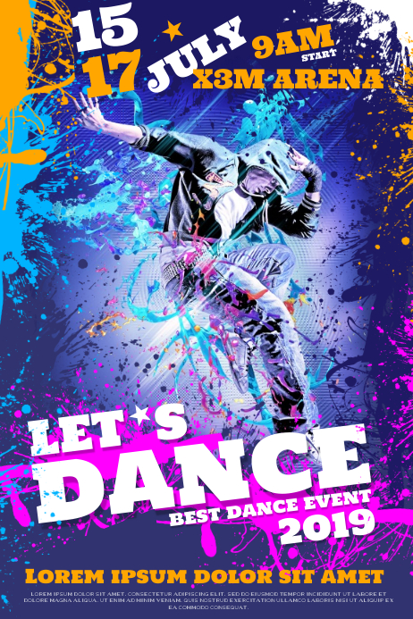 DANCE EVENT POSTER