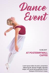 Dance Event Flyer Template