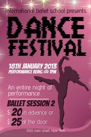Dance Festival Flyer Template