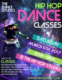 Hip Hop Poster Template PARTY FLYER DANCE