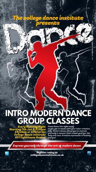Dance Group Instagram Post