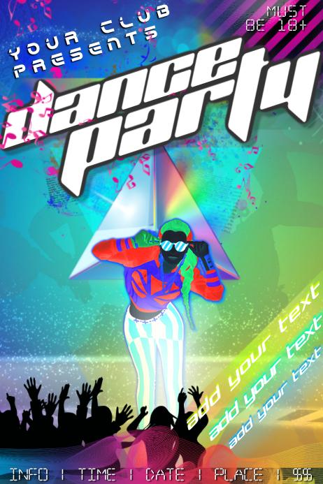 Dance Bar Game Party Club Bar DJ Music Funky Concert
