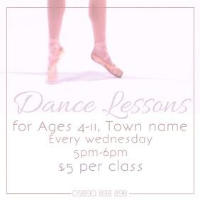 Dance instagram post video