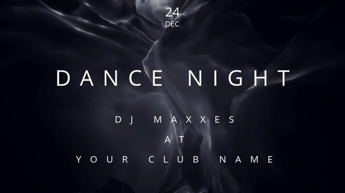 Dance Night - Club Event video poster