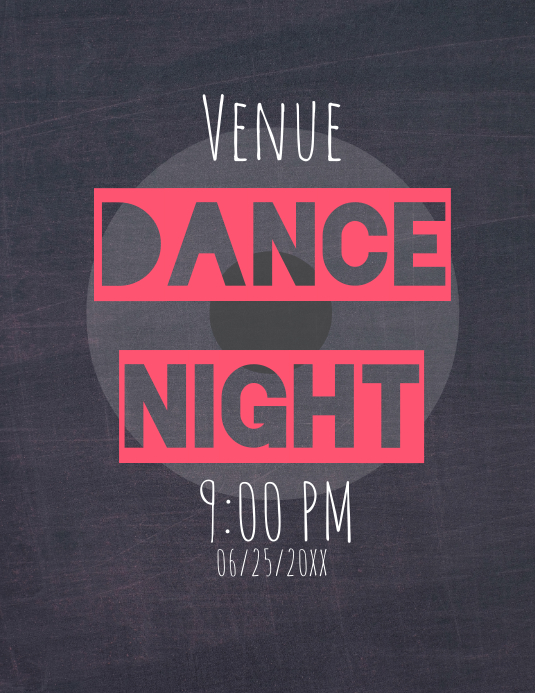 Dance Night Flyer