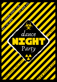 DANCE NIGHT PARTY POSTER