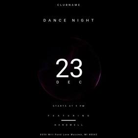 Dance Night Poster
