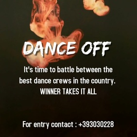 DANCE OFF VIDEO AD