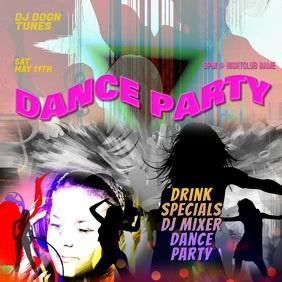 Dance Party Club Video Facebook Instagram