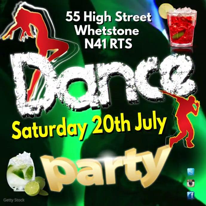 Dance Party Instagram