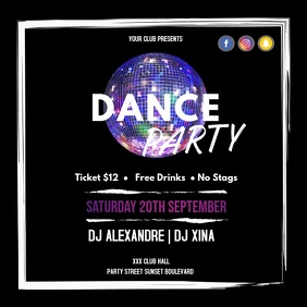 Dance party intsagram video