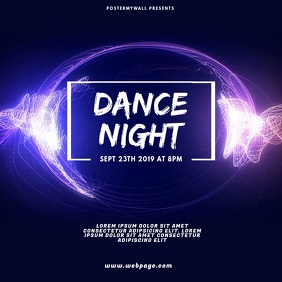 Dance Party Video Design Template