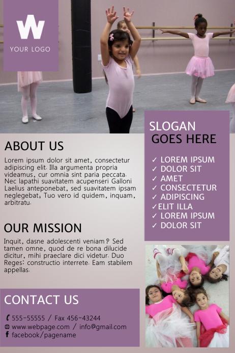 Dance Flyer Template