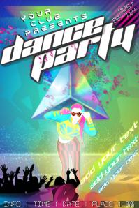 Dance Rave Party Club Bar DJ Event Glow Concert Rap Music