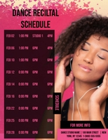 Customizable Design Templates for Schedule Maker | PosterMyWall