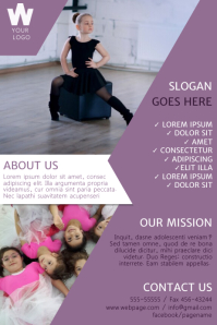 Dance School Flyer Template