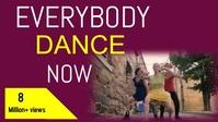 Dance Short VIDEO ADVERT YouTube Thumbnail template