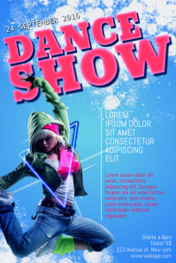 Dance Show Flyer Template