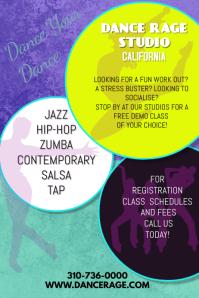 Dance studio Poster/Flyer Template