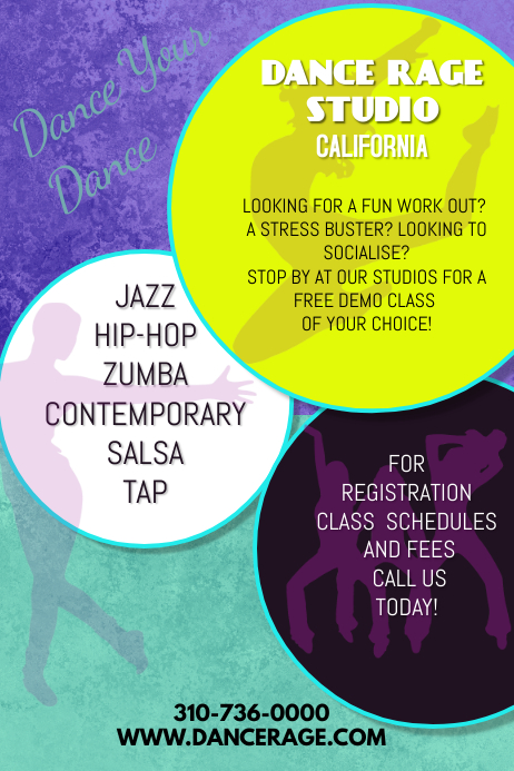 Customizable Design Templates For Zumba Fitness Postermywall