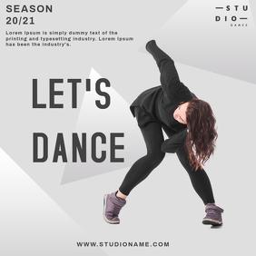 dance studio instagram template